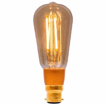 Bell LED Vintage Squirrel cage dimmable