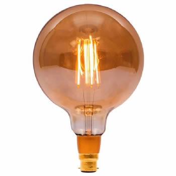Bell LED Vintage large globe dimmable