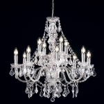 Endon Lighting Clarence 12lt pendant 308-8+4CL