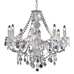 Endon Lighting Clarence 8lt pendant 308-8CL