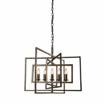 Endon Lighting Tibet 5 light pendant 61017