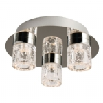 Endon Lighting Imperial bathroom flush 61359