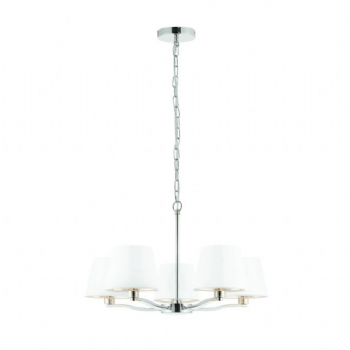Endon Collection Harvey 5lt pendant nickel 73022