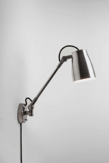 Astro Atelier large wall light chrome 7503