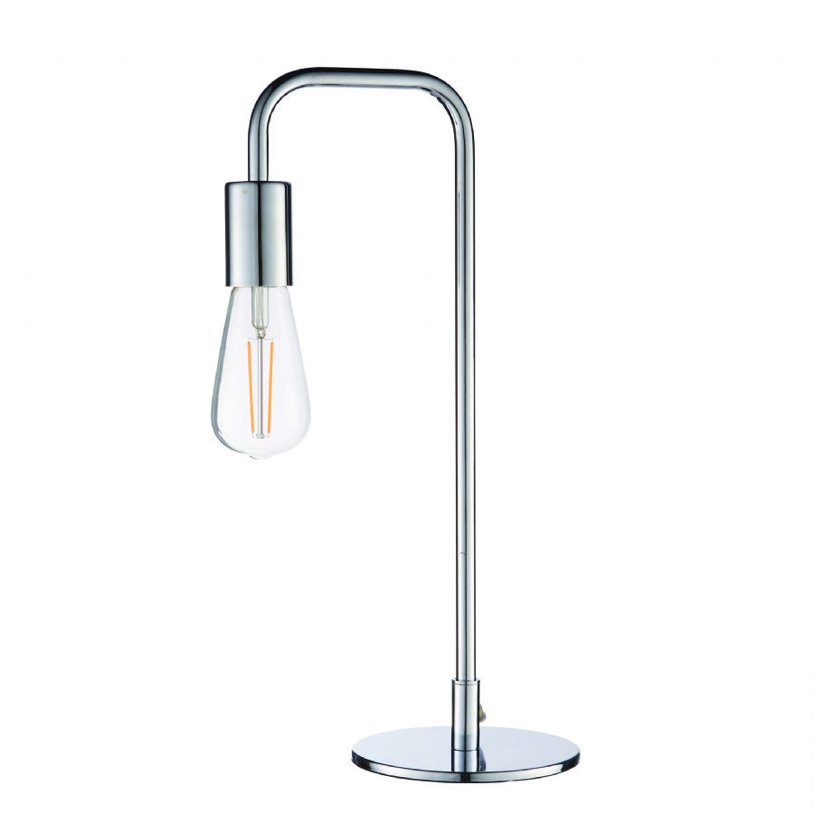 Endon Lighting Rubens table lamp chrome 73644