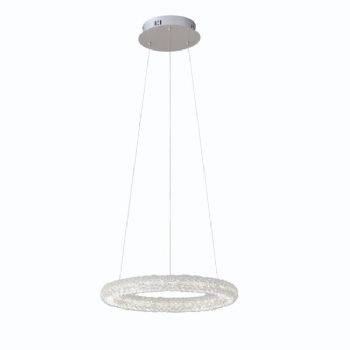 Endon collection Neve single Ring Pendant 76482