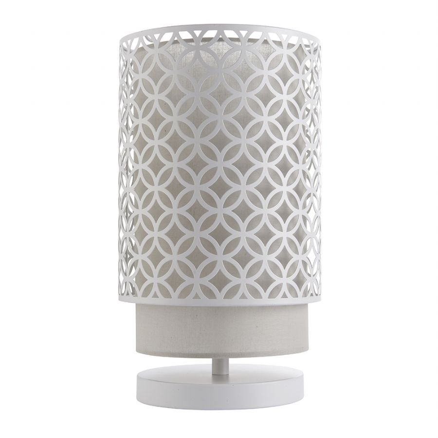 Endon Lighting Gilli Table Lamp White 81030