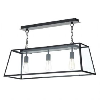 Dar Lighting Academy 3 light pendant ACA0344