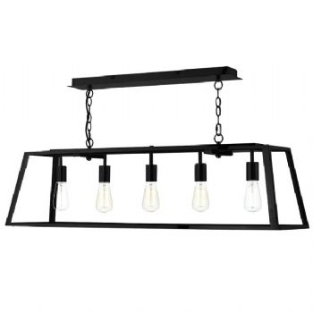Dar Lighting Academy 5 Light pendant