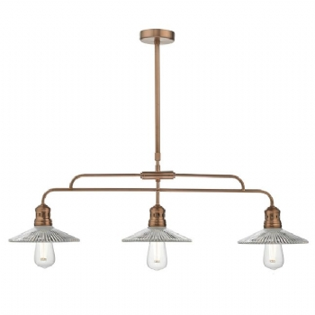Dar Lighting Adeline 3lt pendant bar ade7364