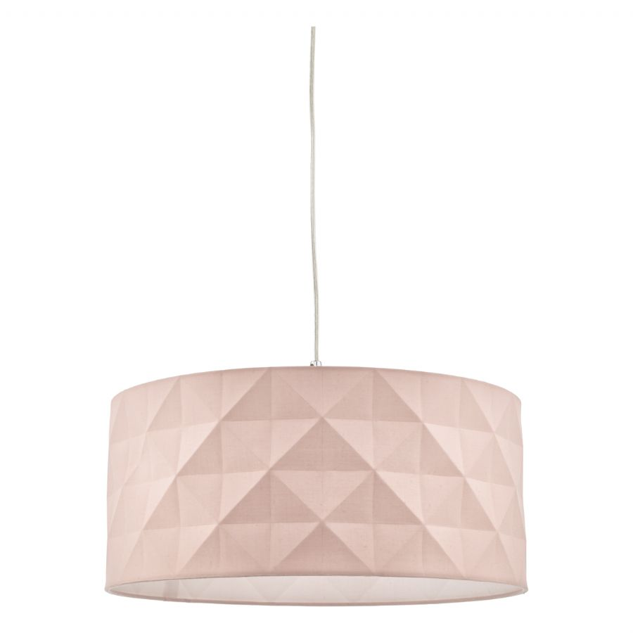 Dar Lighting Aisha easy fit pendant pink AIS6503