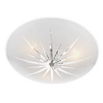 Dar Lighting Albany semi flush ALB532
