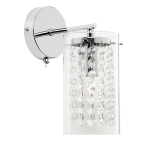 Endon Lighting Alda 1lt wall light alda-1wbch