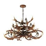 David Hunt Antler 17 Light Chandelier
