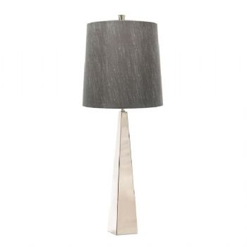 Elstead Ascent table lamp polished nickel
