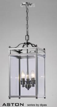 Diyas Aston 3 light lantern IL31102