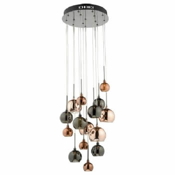 Dar Lighting Aurelia 15lt pendant AUR1564