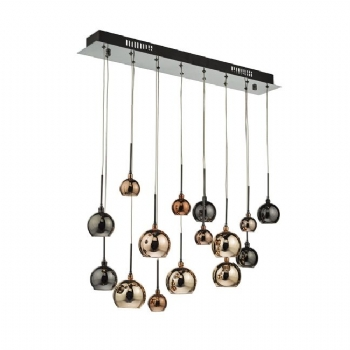 Dar Lighting Aurelia 15lt pendant bar aur6264