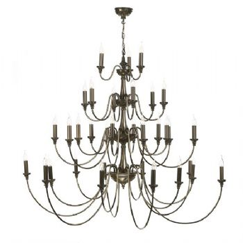 David Hunt Bailey 33 light pendant BAI3363 BAI3345