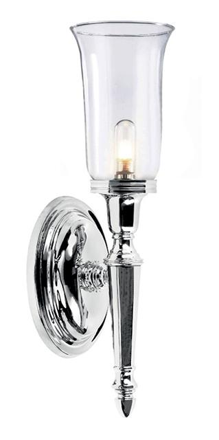 Elstead Dryden bathroom wall light BATH/DRYDEN 2 PC
