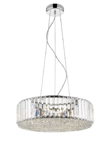 The Lite Spot bells 5 Light pendant