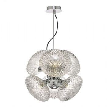 Dar Lighting Bibiana 6lt Pendant