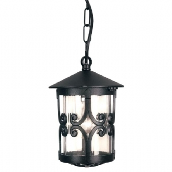 Elstead Hereford porch chain lantern BL13B