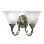 Dar Lighting Boston double wall light BOS09