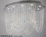 Diyas Camilla 12 light oval fitting IL31393