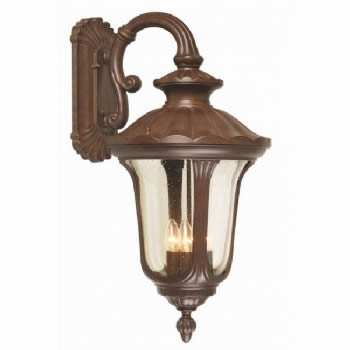 Elstead Chicago 4lt large wall lantern CC2/L