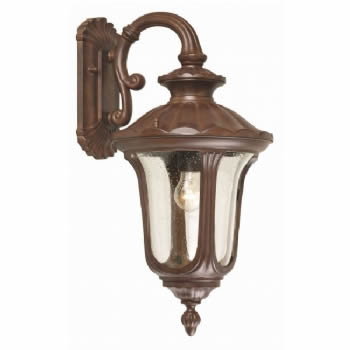 Elstead Chicago 1lt medium wall lantern CC2/M