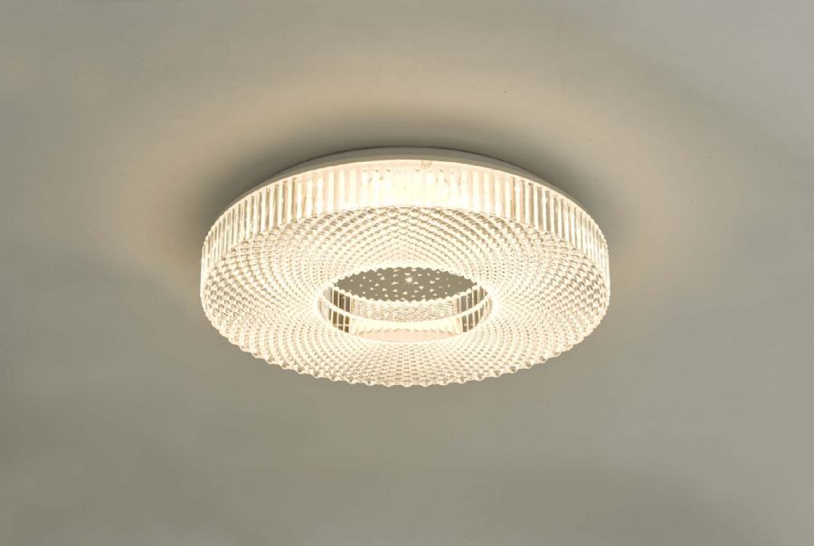 Dar Lighting Cimona Small Flush CIM5008