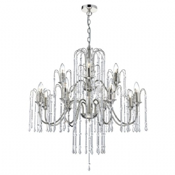 Dar Lighting Daniella 12lt pendant DAN1238