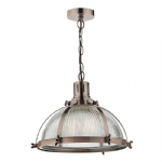 Dar Lighting Debut 1lt pendant DEB0164