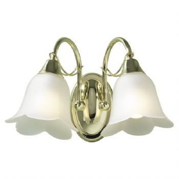 Dar Lighting Doublet double wall light DOU09