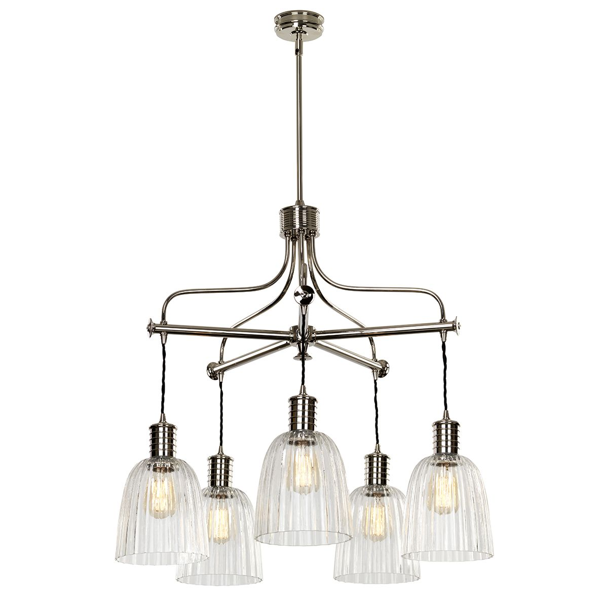 Elstead Douille 5 arm chandelier DOUILLE5 PN