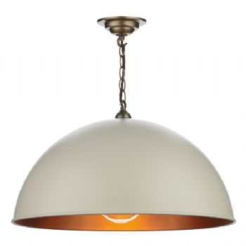 David Hunt Ealing pendant cream EAL0112