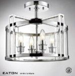Diyas Eaton 4 light flush lantern IL31081