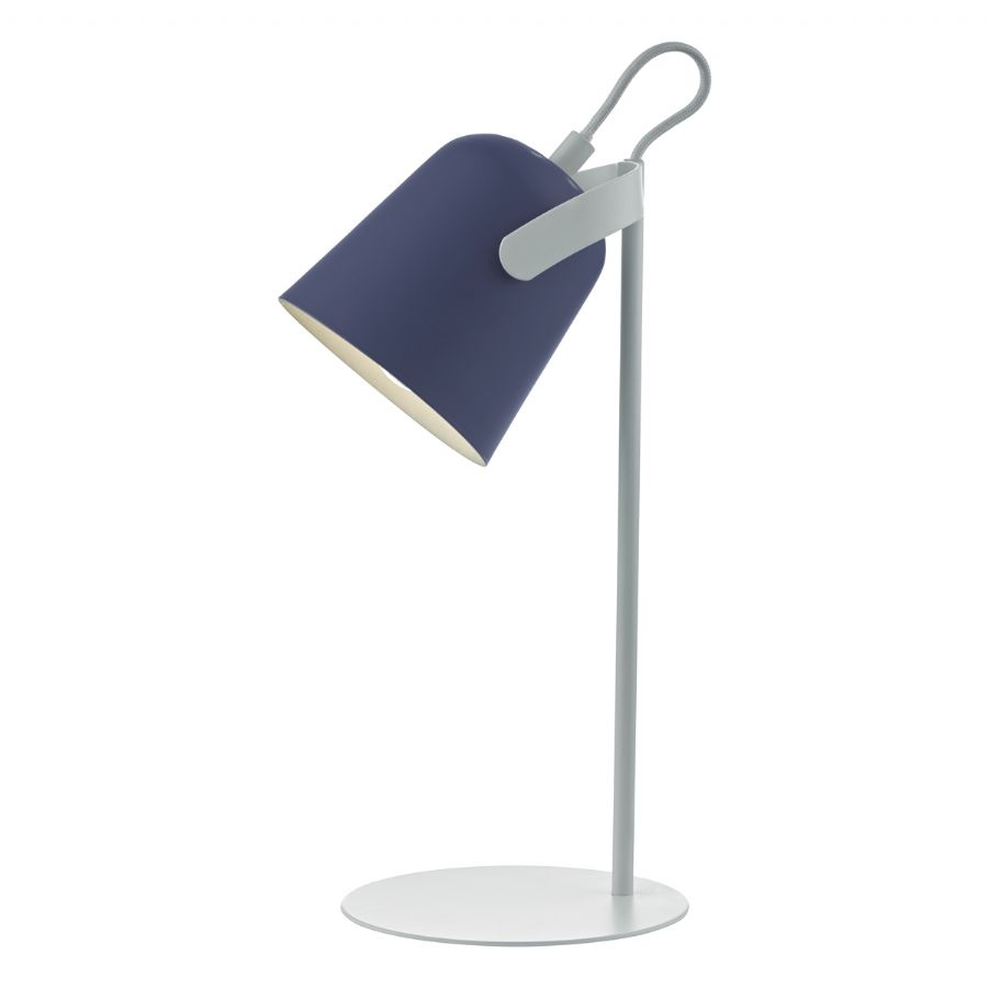Dar Lighting Effie table lamp blue EFF4123