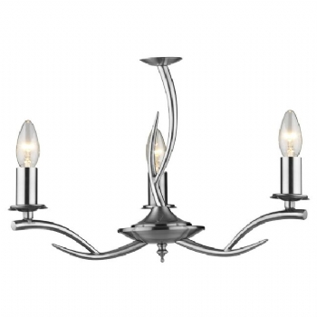 Dar Lighting Elka 3 light ELK0346