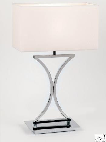 Endon Lighting curved table lamp 96930-TL