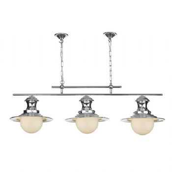 David Hunt Station 3lt pendant chrome EP0350