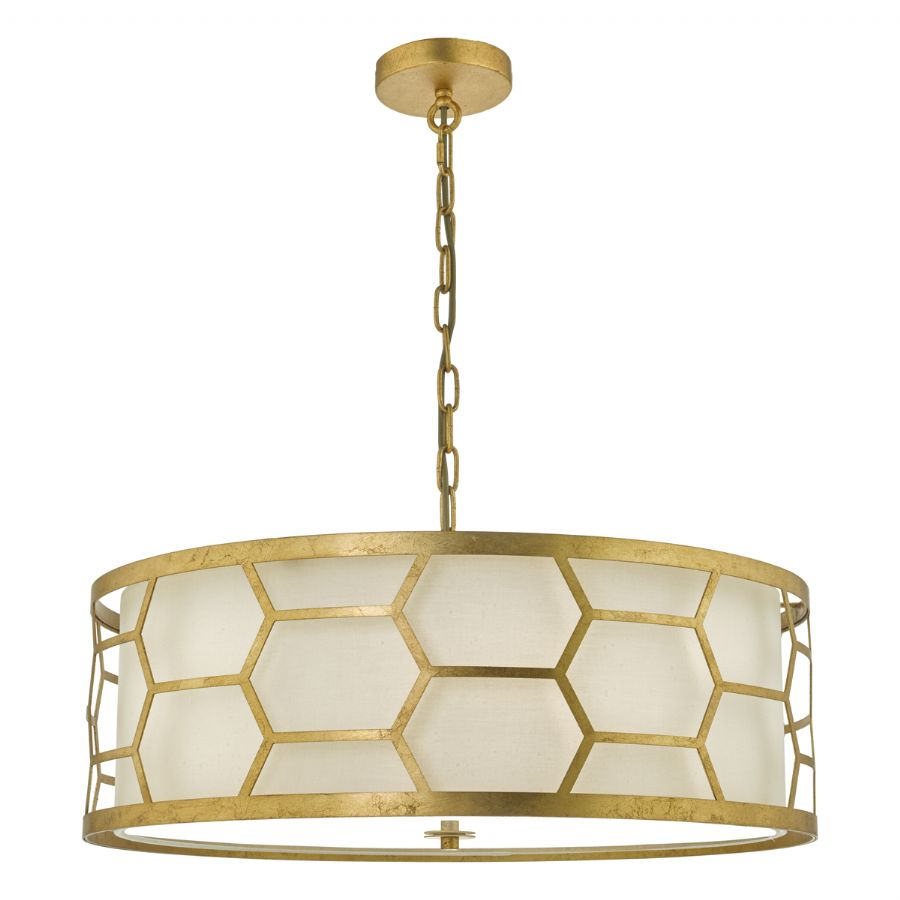 Dar Lighting Epstein 4 light pendant EPS0412