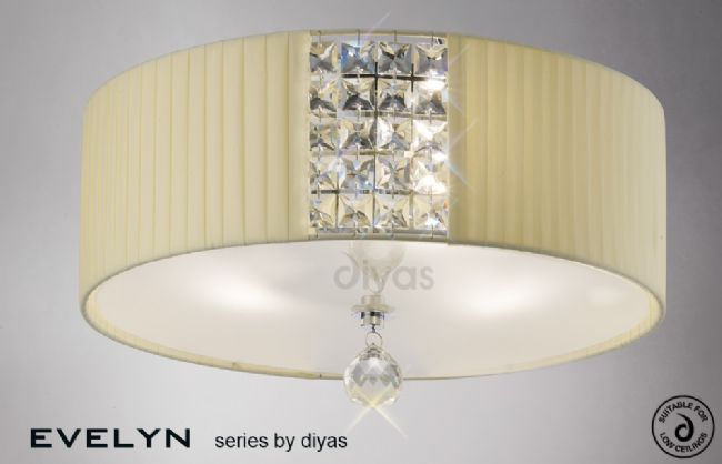 Diyas Evelyn flush IL31172