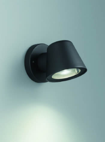 Franklite Compact Cast Aluminium Exterior Wall Light ext6619