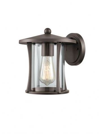 Franklite Alfresco Outdoor Wall Light Brown EXT6625