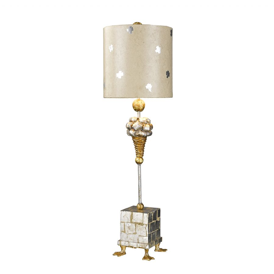 Elstead Flambeau Pompadour table lamp FB/POMPADOURX/TL