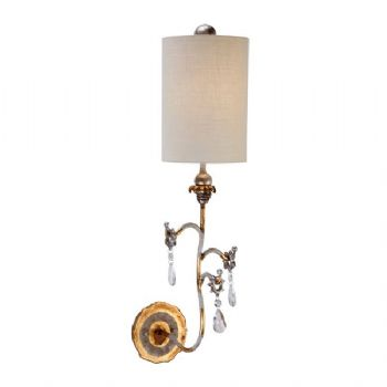 Elstead Flambeau Tivoli wall light gold FB/TIVOLI W1 GD