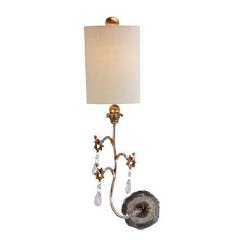 Elstead Flambeau Tivoli wall light silver FB/TIVOLI W1 SV