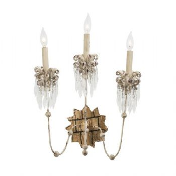 Elstead Flambeau Venetian 3lt Wall Light
